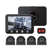 Motocam Motocam C4.3 4CH VGA truck dashcam