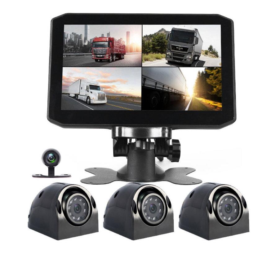 Motocam X7 4CH VGA truck dashcam