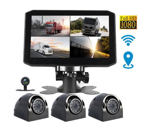 Motocam Motocam X17 4CH Wifi GPS FullHD truck dashcam