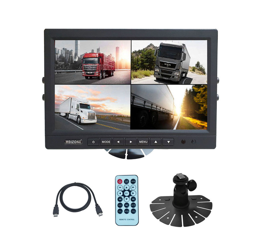 MACH Truck 10 inch monitor with remote