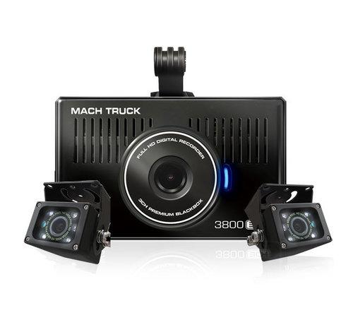 MACH Truck MACH Truck 3800 3CH FullHD 32gb truck dashcam
