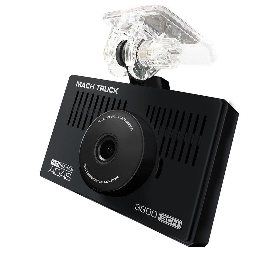 MACH Truck 3800 3CH FullHD 32gb truck dashcam