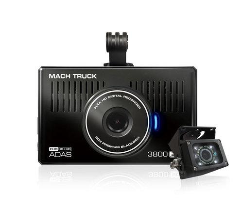 MACH Truck MACH Truck 3800 2CH FullHD 32gb truck dashcam