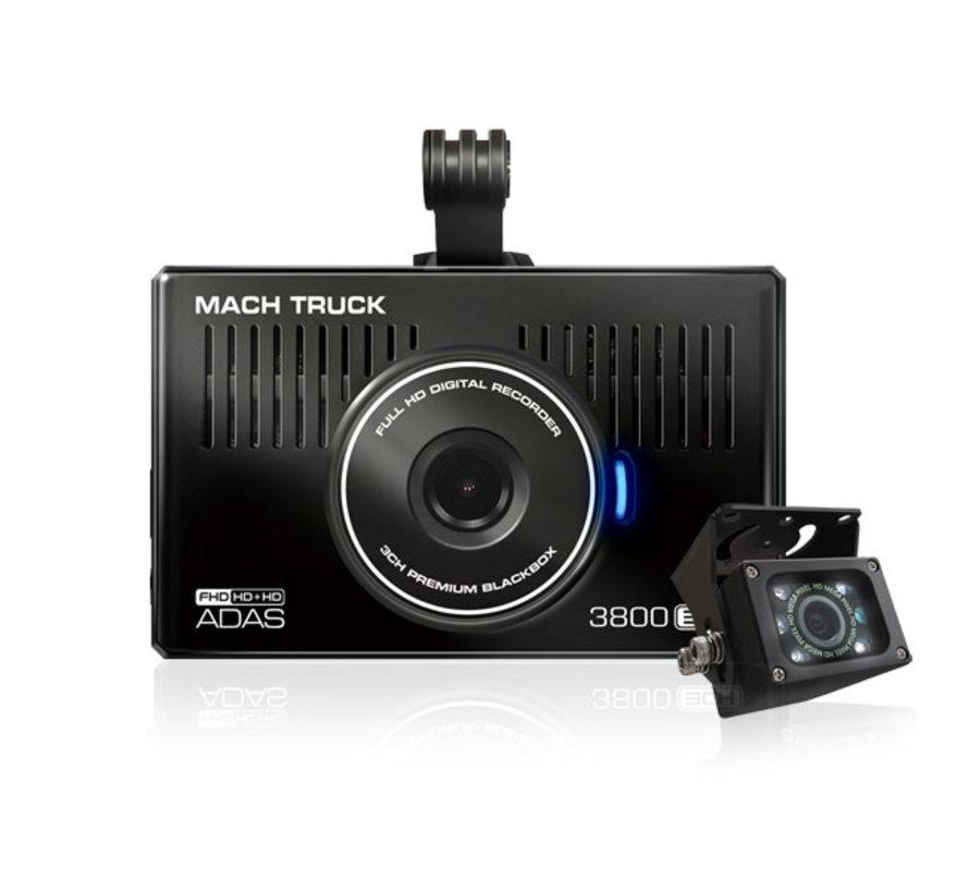 MACH Truck 3800 2CH FullHD 32gb truck dashcam