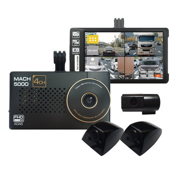MACH Truck MACH Sedan 5000 4CH FullHD 64gb dashcam