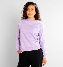 Dedicated SWEATSHIRT YSTAD VIOLET TULIP
