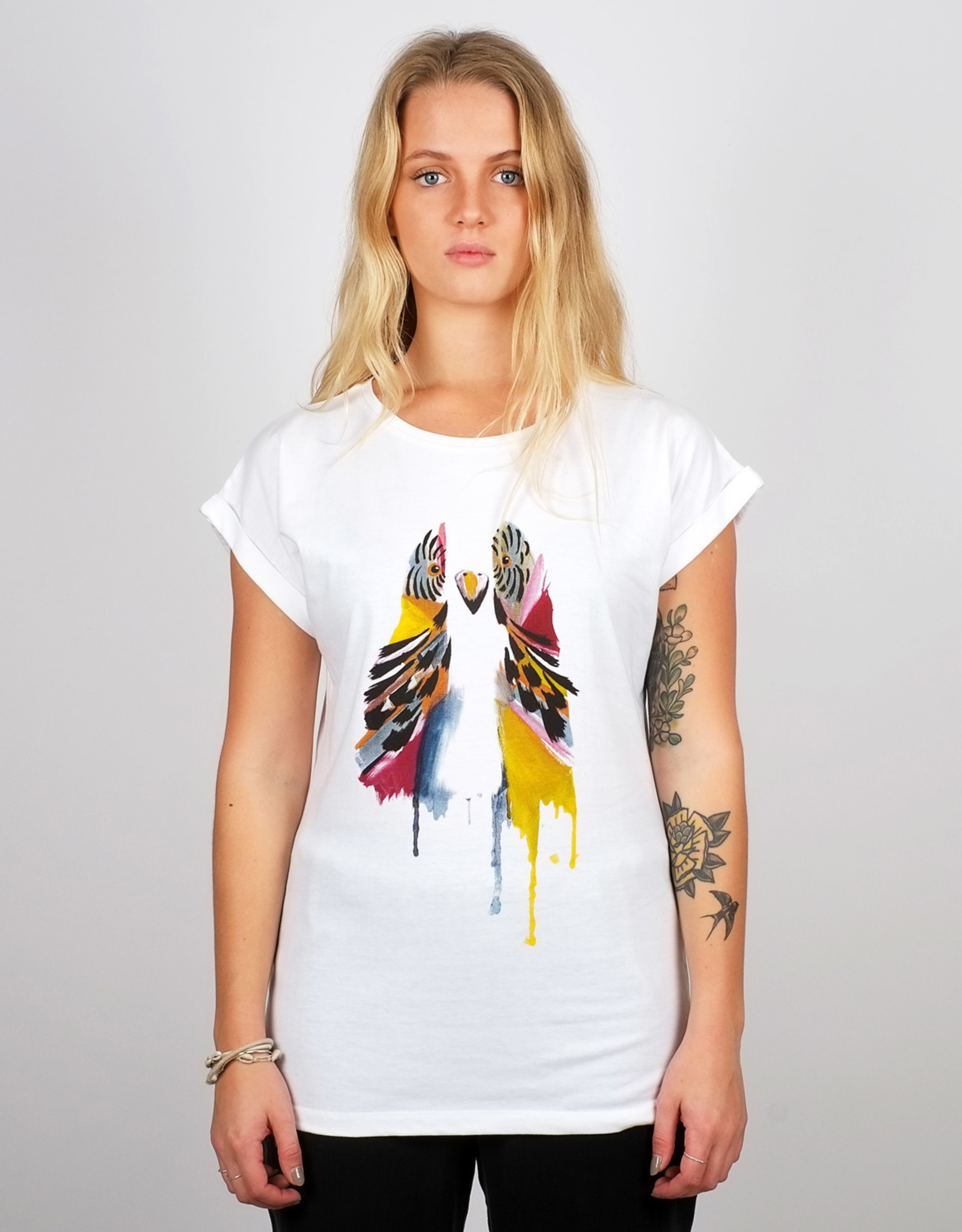 Dedicated T-SHIRT VISBY PAINTED BUDGY