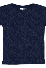 Dedicated T-SHIRT VISBY JAPANESE WAVES BLUE