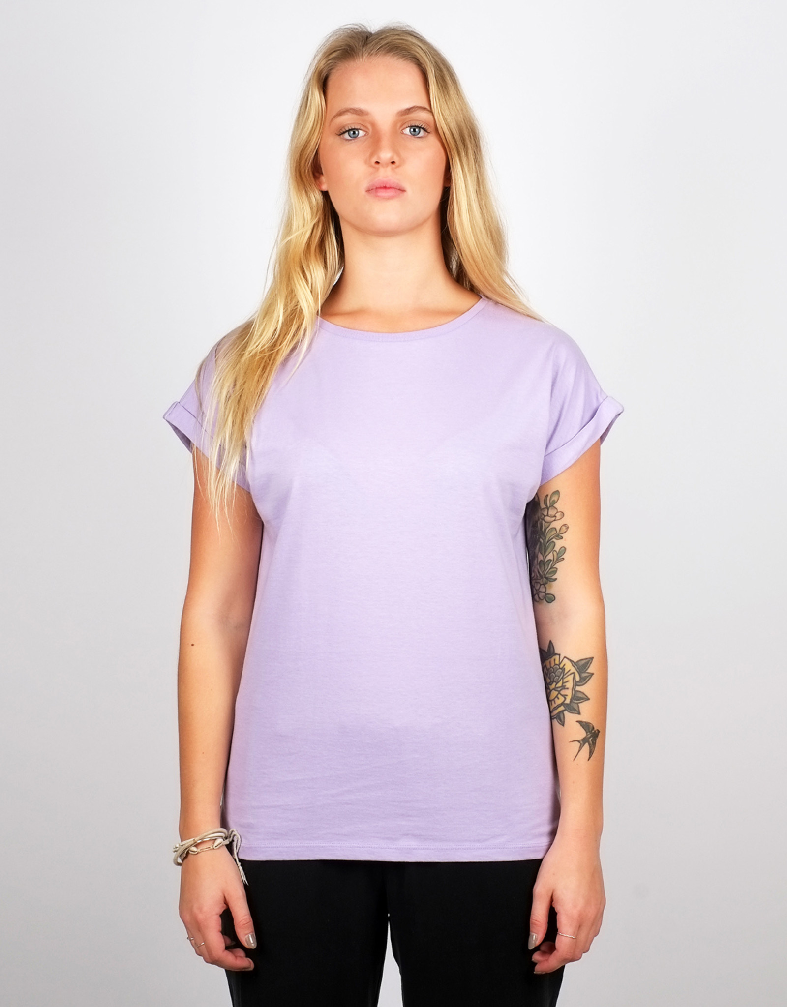 Dedicated T-SHIRT VISBY VIOLET TULIP
