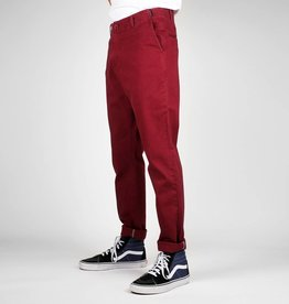 Dedicated CHINO BROEK BORDEAUX