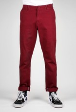 Dedicated CHINO BROEK ZAND BORDEAUX SUNDSVALL