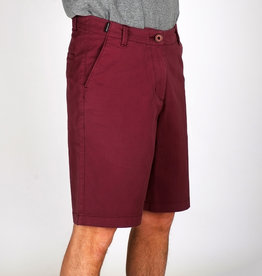 Dedicated CHINO SHORT BORDEAUX