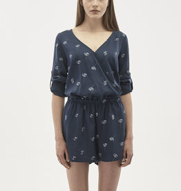 Organication JUMPSUIT ALLOVER PRINT NAVY