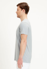 Organication T-SHIRT V-NECK GREY