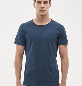 Organication T-SHIRT O-NECK NAVY