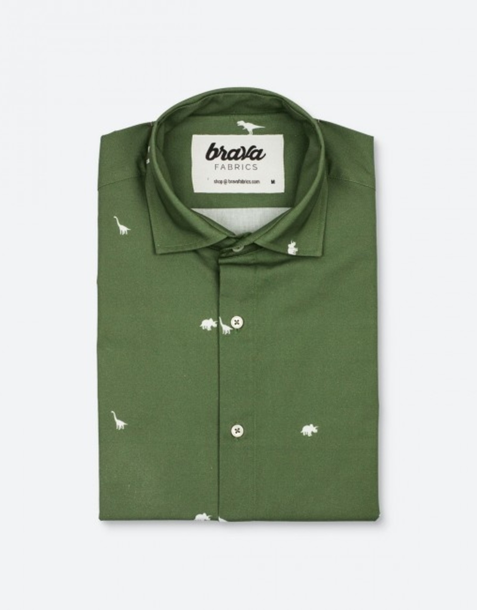 Brava Fabrics HEMD JURASSIC ADVENTURE DINOSAURS