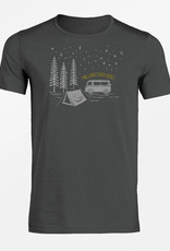 Greenbomb T-SHIRT NIGHTSKY ANTHRACITE