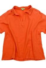 Lily-Balou Women BLOUSE RED ORANGE OVERSIZED  MODEL
