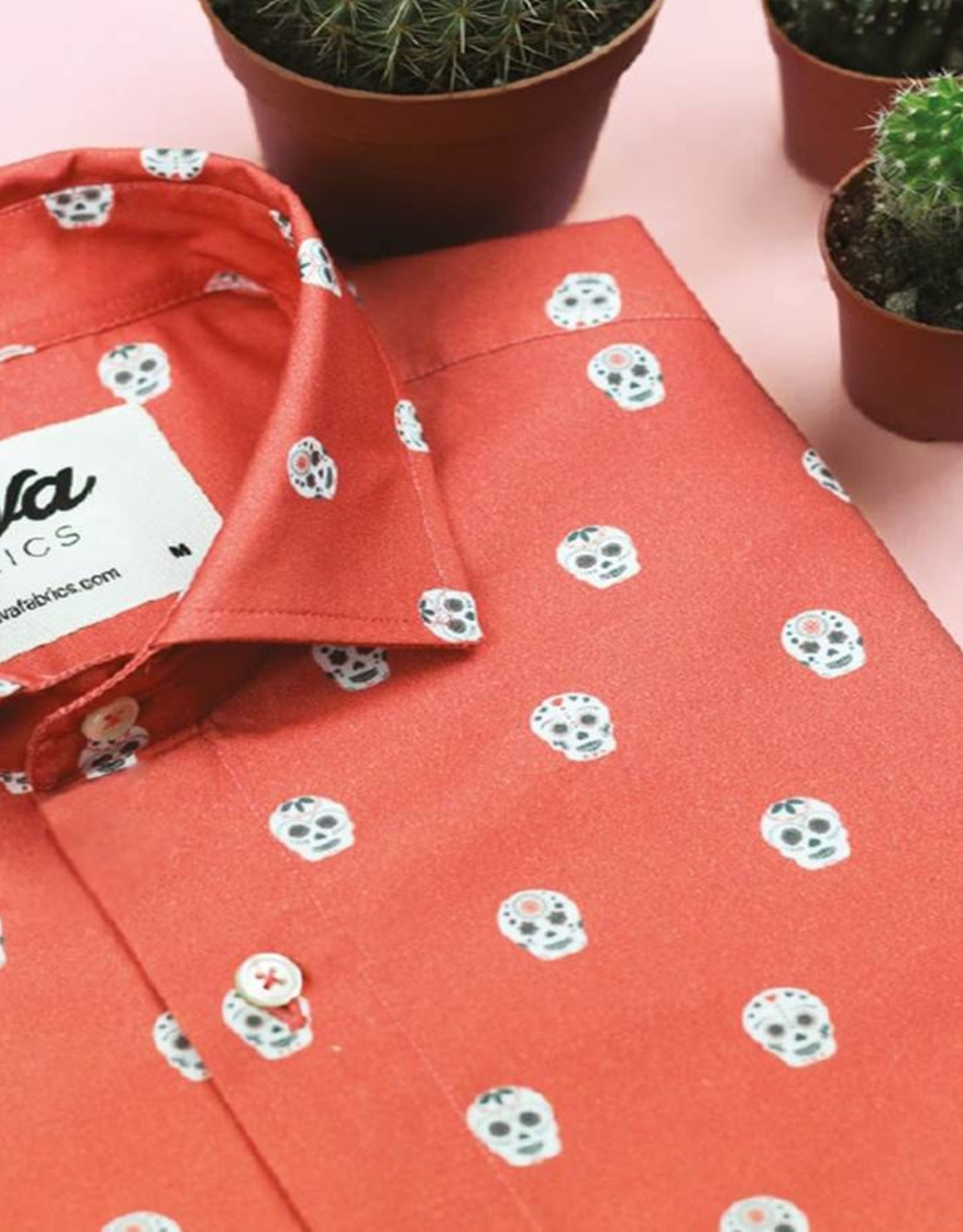 Brava Fabrics HEMD SHORTSLEEVE CALAVERA