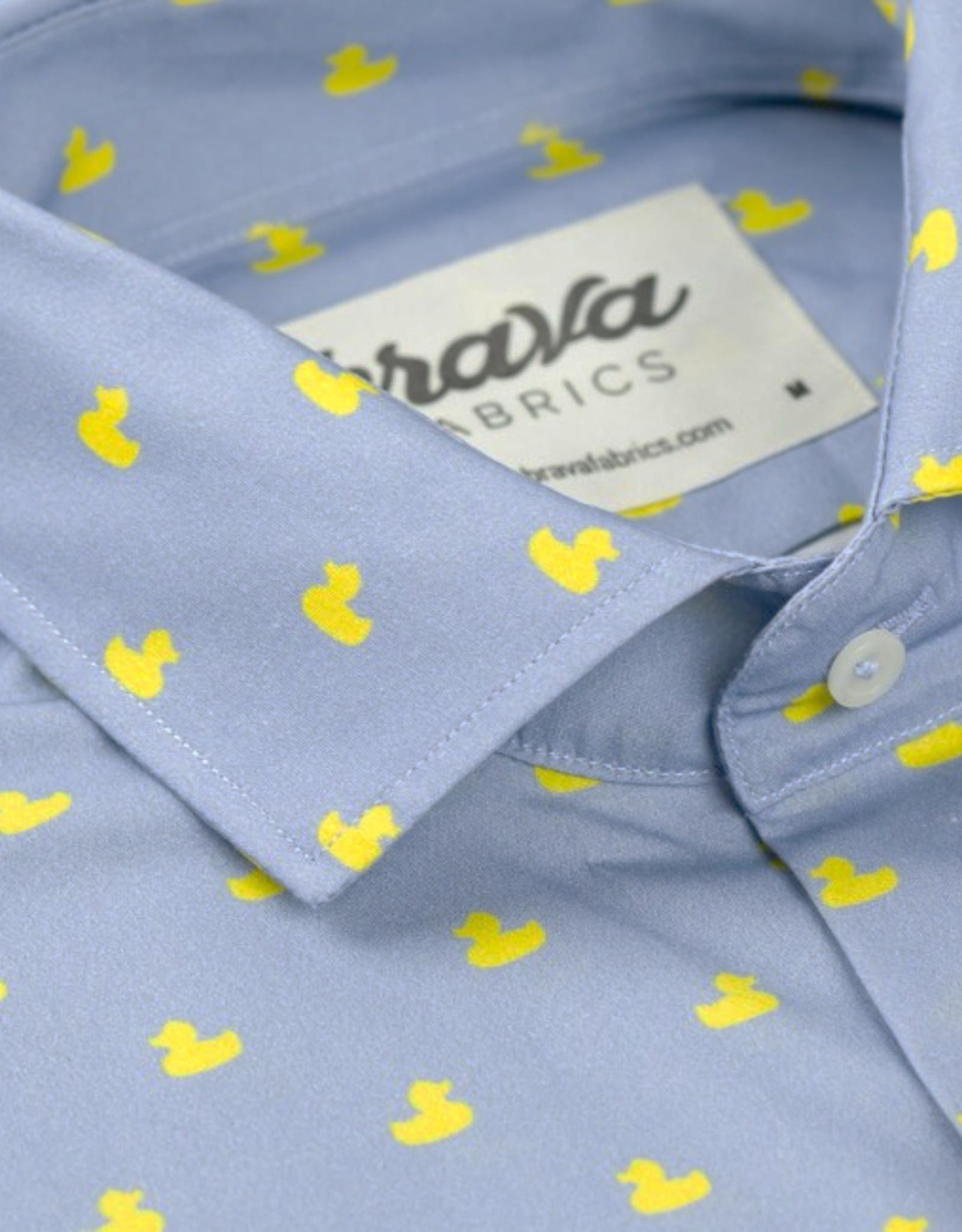 Brava Fabrics HEMD SHORTSLEEVE LEO DUCKIE