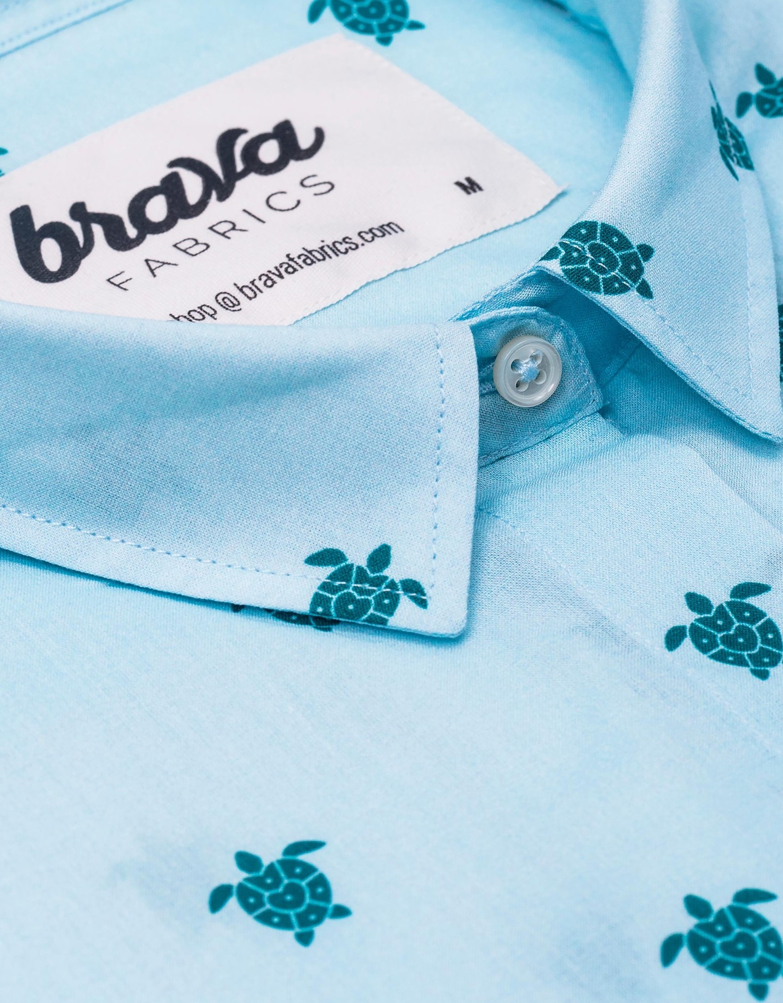 Brava Fabrics HEMDJE TURTLE LOVE