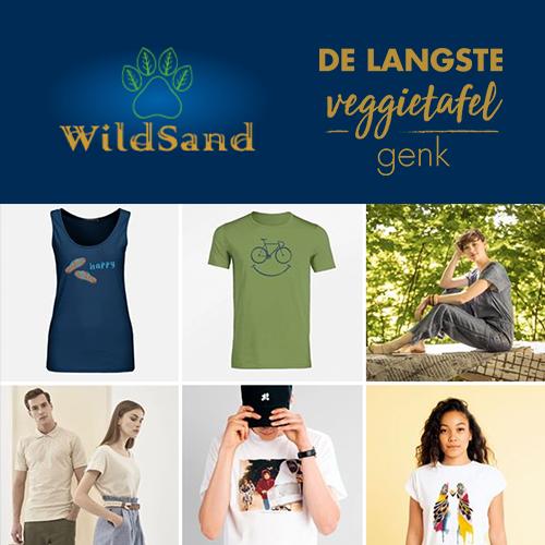 WildSand On Tour in Genk bij de Langste Veggietafel