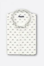 Brava Fabrics HEMD LONGSLEEVE FIXED GEAR RIDER OFFWHITE