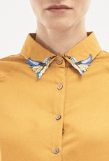 Organication HEMD BIRD COLLAR HONEY