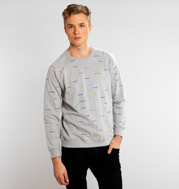 Dedicated SWEATSHIRT COLOR LINES GREY