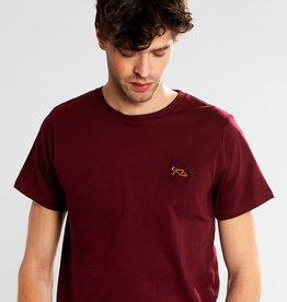 Dedicated T-SHIRT BIKE STITCH BORDEAUX