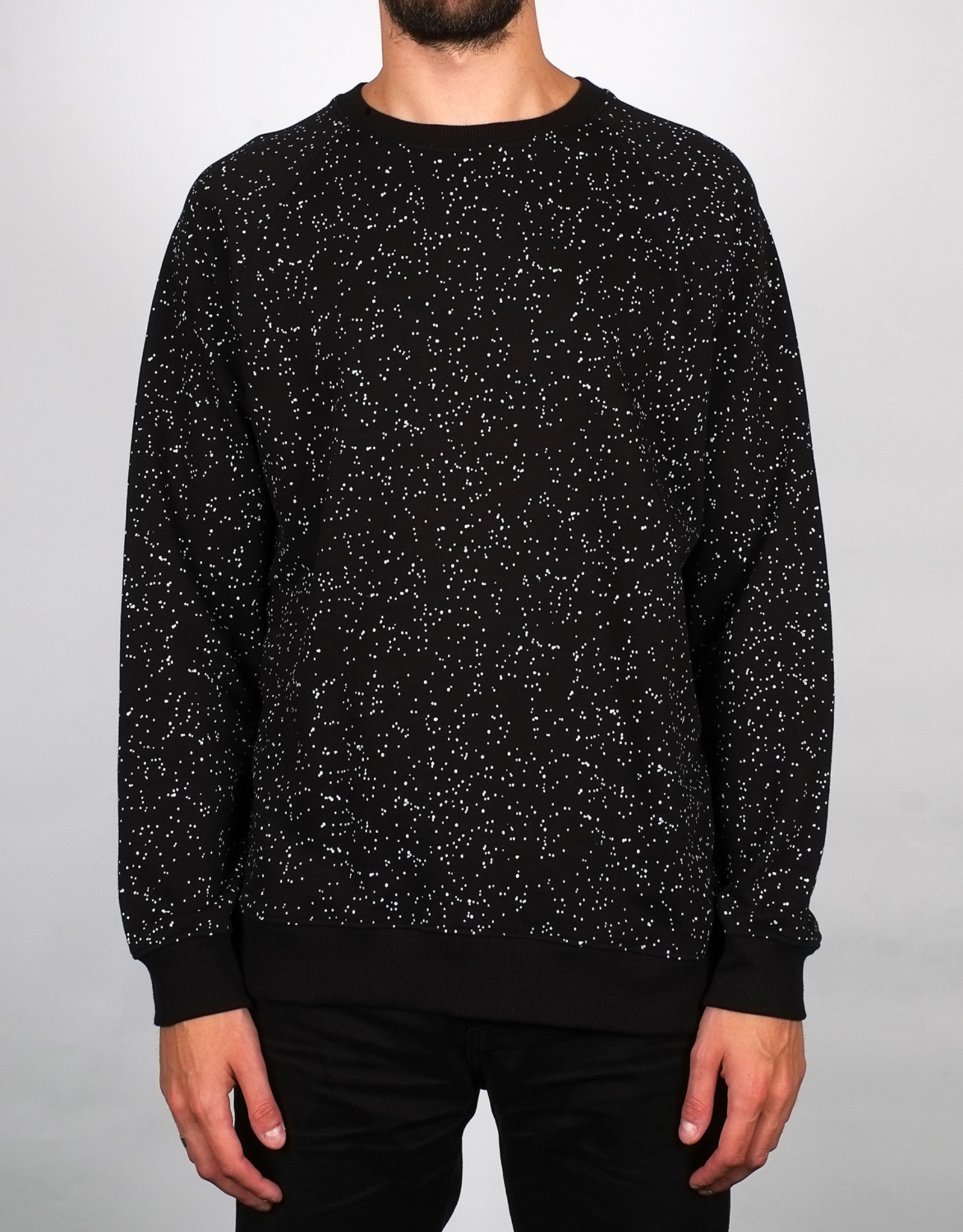 Dedicated SWEATSHIRT DEEP SPACE BLACK MALMOE