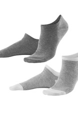 Living Crafts SNEAKERSOCKS 2 PAAR COMBI GREY OF NAVY