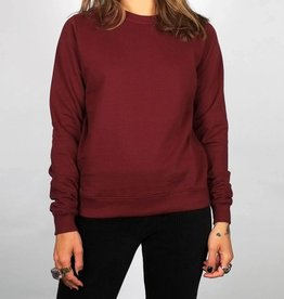 Dedicated SWEATSHIRT ESSENTIAL BORDEAUX