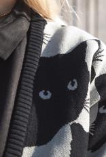 Dedicated CARDIGAN CATS GREY