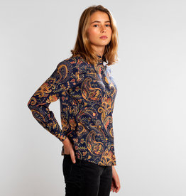 Dedicated HEMD PAISLEY PRINT NAVY