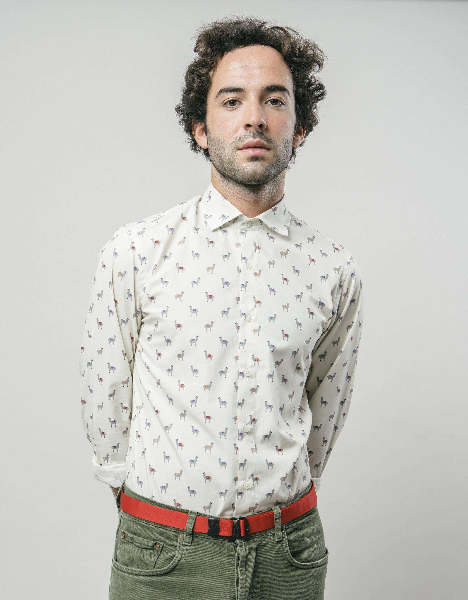 Brava Fabrics HEMD LONGSLEEVE LAMA