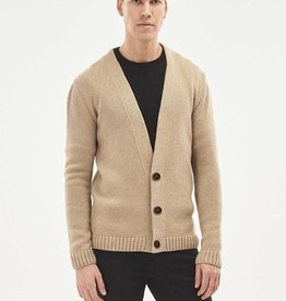 Organication CARDIGAN  LAMSWOL SAND
