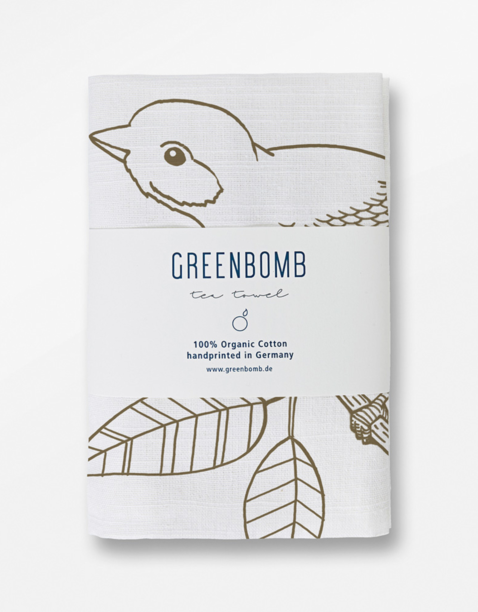 Greenbomb THEEDOEK GOLD BIRD BERRY