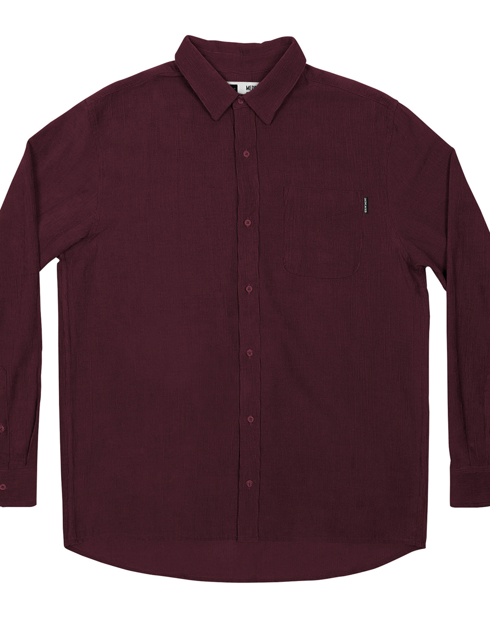 Dedicated HEMD CORDUROY BORDEAUX