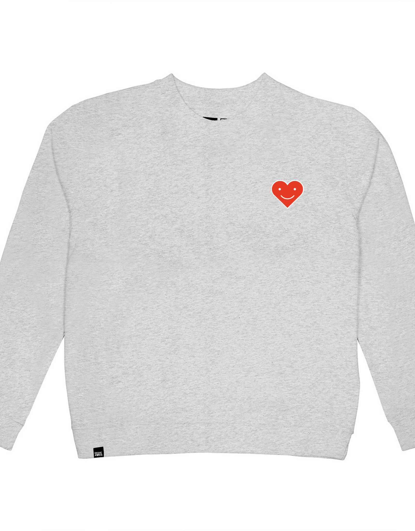 Dedicated SWEATSHIRT HAPPY HEART EMBLEEM