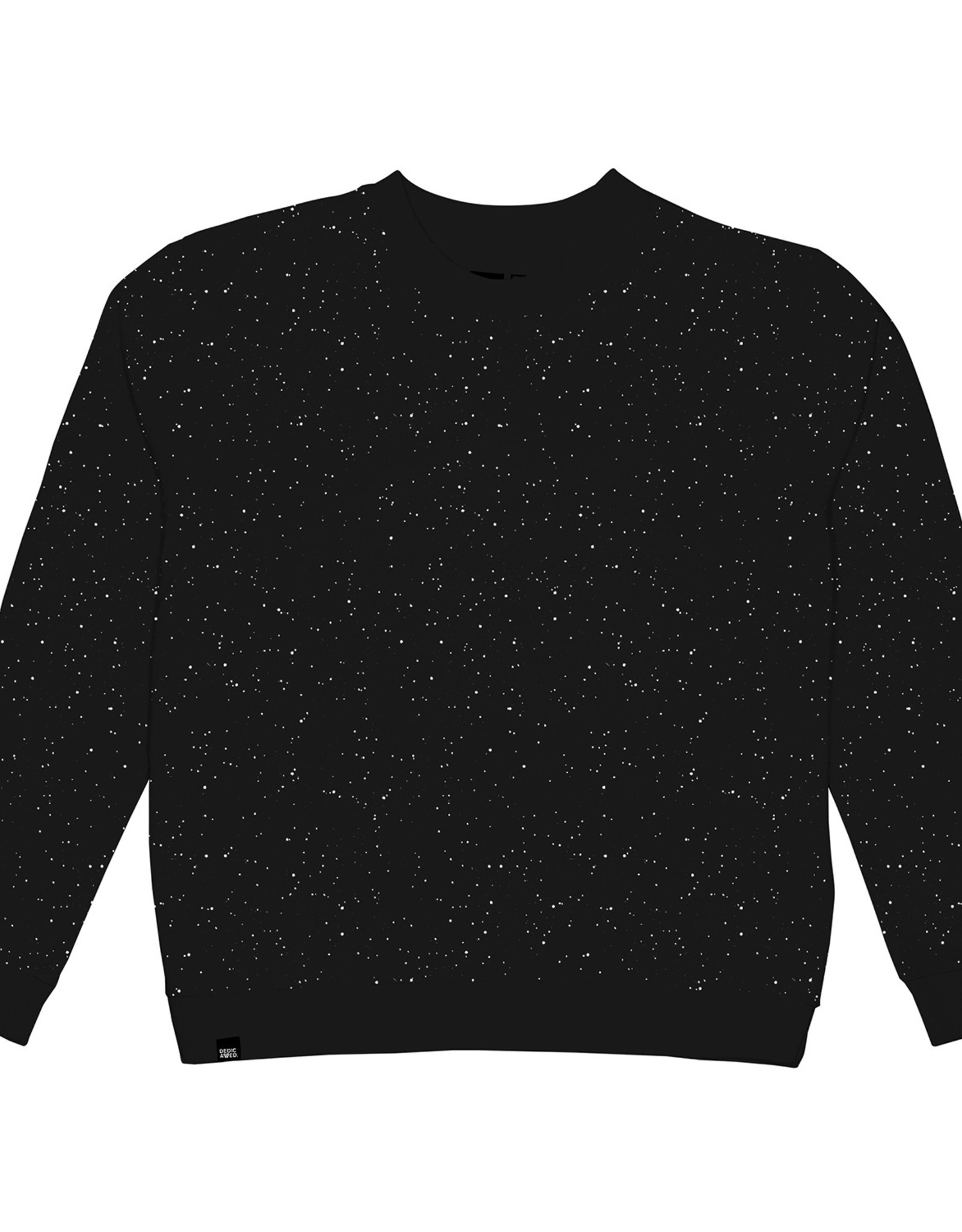 Dedicated SWEATSHIRT SPACE PRINT BLACK