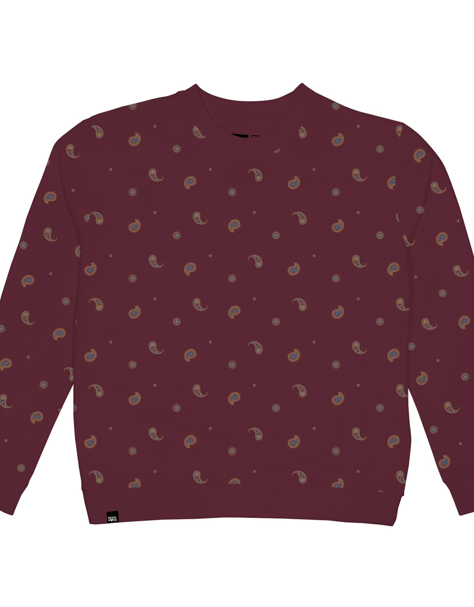 Dedicated SWEATSHIRT PAISLEY BORDEAUX