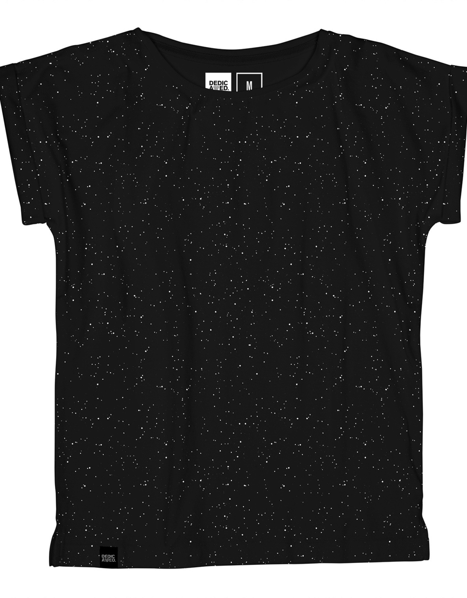 Dedicated T-SHIRT SPACE PRINT BLACK