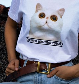 Dedicated T-SHIRT OH SH*T CAT