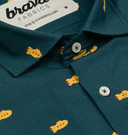 Brava Fabrics HEMD LONGSLEEVE SUBMARINE