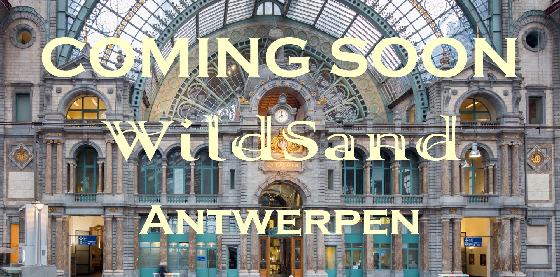 Opening WildSand Winkel In Antwerpen