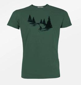 Greenbomb T-SHIRT NATURE BEAR FOREST