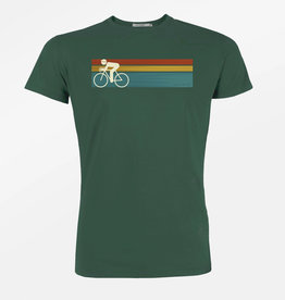 Greenbomb T-SHIRT BIKE SPEED