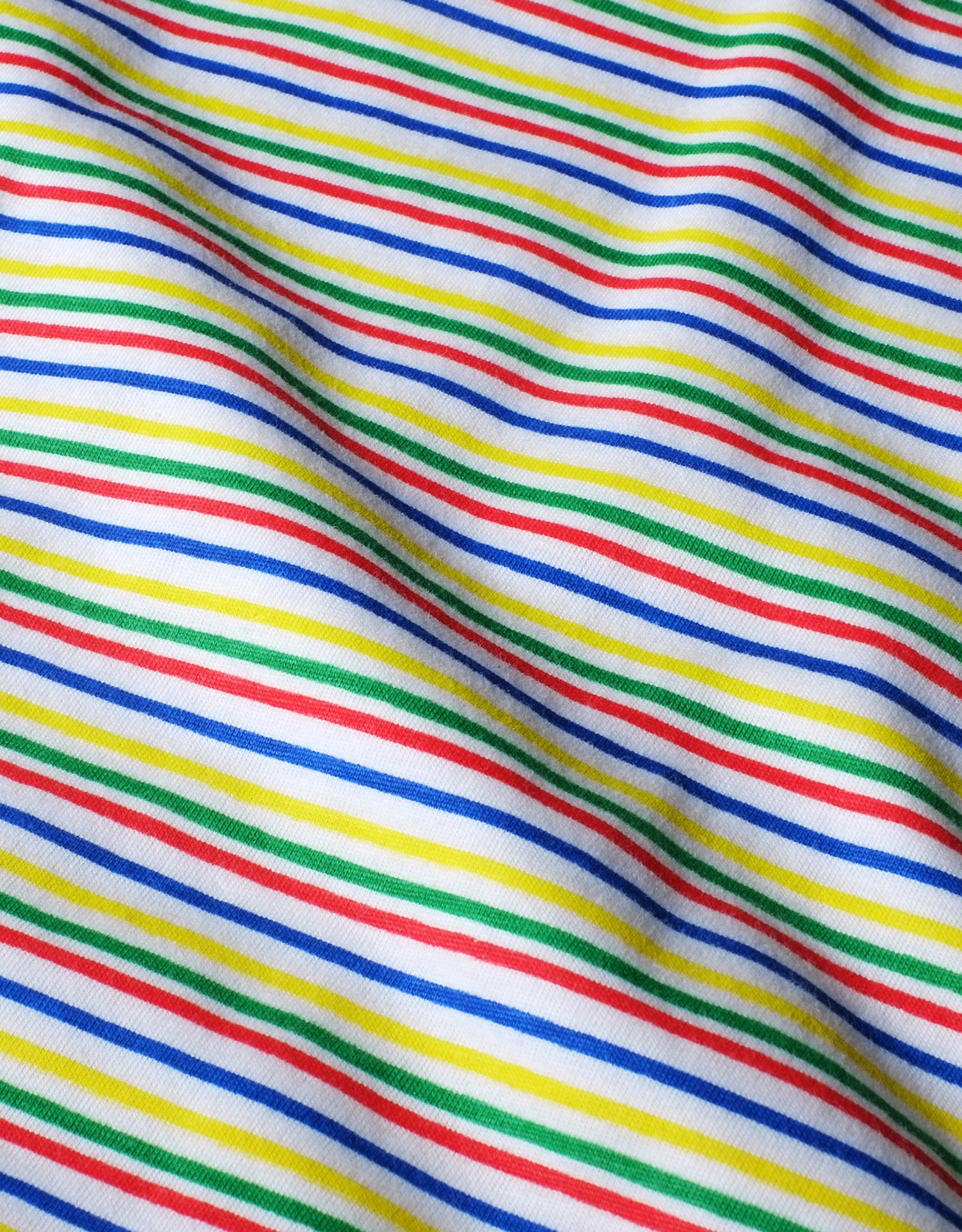 Dedicated T-SHIRT COLOR STRIPES WHITE VISBY