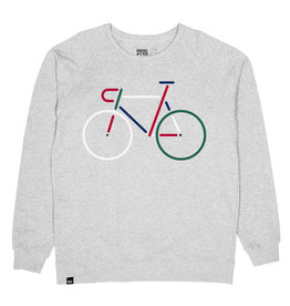Dedicated SWEATSHIRT COLOR BIKE GREY